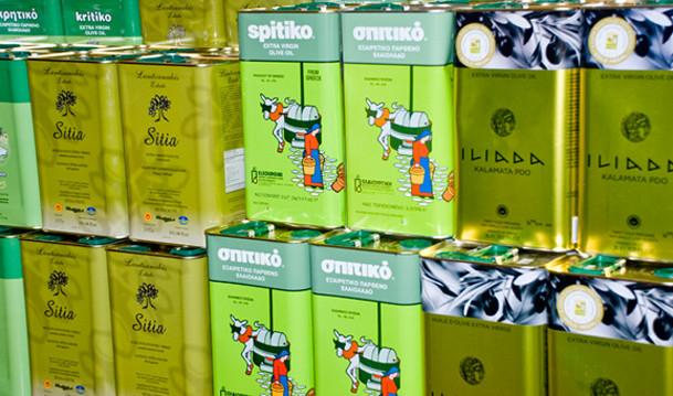 Imported Greek Olive Oils!