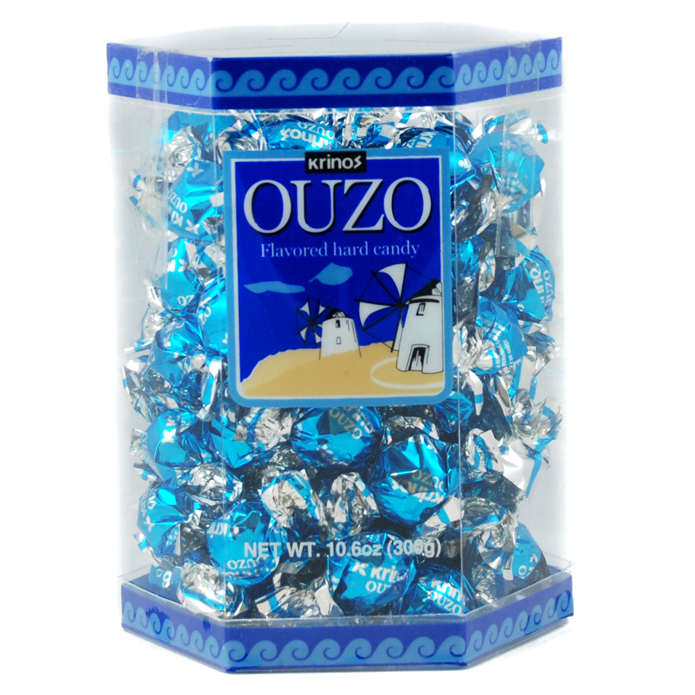 ouzo hard candy 300gr greek grocery. Black Bedroom Furniture Sets. Home Design Ideas